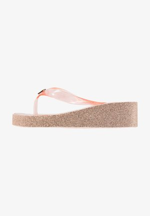 ZIA GAGE KILEY - T-bar sandals - rose gold