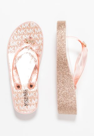 ZIA GAGE KILEY - Sandalias de dedo - rose gold