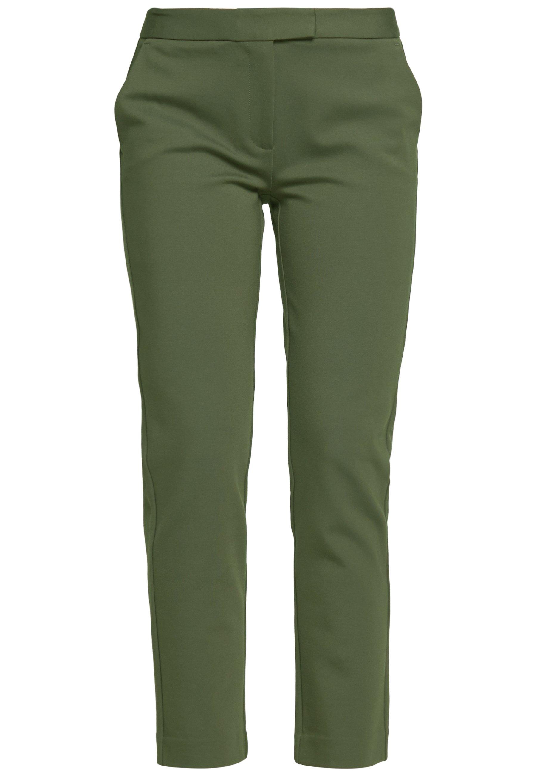 MICHAEL Michael Kors ELVE SLIM FIT TROUSER - Spodnie materiałowe - ivy