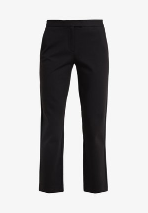 ELVE SLIM FIT TROUSER - Trousers - black