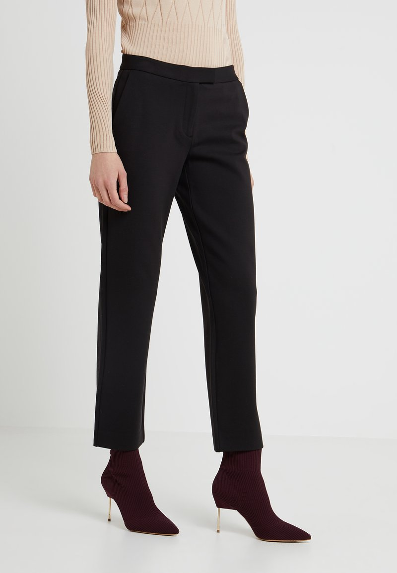 MICHAEL Michael Kors - ELVE SLIM FIT TROUSER - Bukser - black