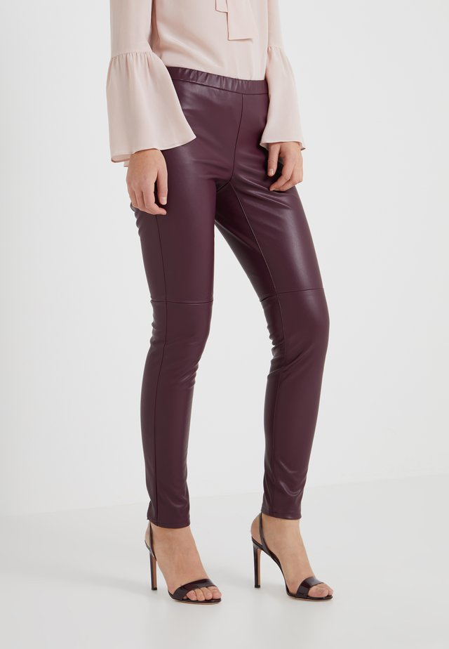 Leggings - cordovan