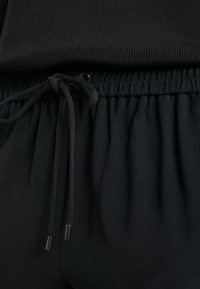 MICHAEL Michael Kors - STRIPE TRACK PANT - Stoffhose - black/white - 5