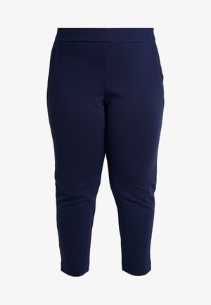 SLIM PULL ON TROUSER - Tracksuit bottoms - true navy