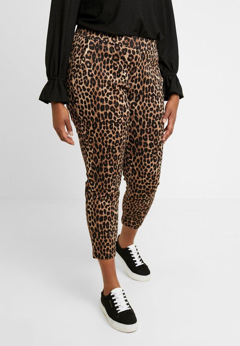 MICHAEL Michael Kors - CHETTAH PULL ON - Pantalones - dark camel