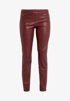 Leggings - dark brandy