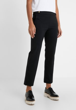 ANKLE PANT - Trousers - black