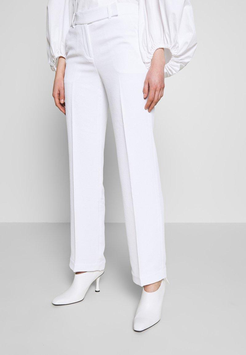 MICHAEL Michael Kors - STRAIGHT LEG PANT - Kalhoty - white