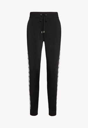 CIRCLE LOGO  - Pantalones deportivos - black/white