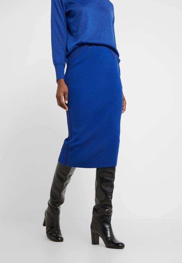 TRIM TUBE SKIRT - Blyantnederdel / pencil skirts - twilight blue