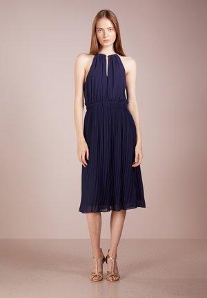 CHAIN MIDI DRESS - Cocktail dress / Party dress - true navy