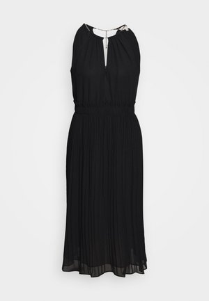 CHAIN MIDI DRESS - Cocktail dress / Party dress - black