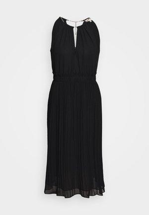 CHAIN MIDI DRESS - Vestido de cóctel - black