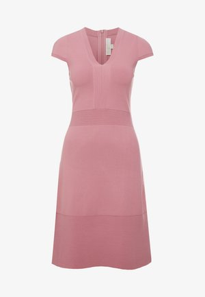 FLAR DRESS - Vestido de punto - dusty rose