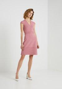 MICHAEL Michael Kors - FLAR DRESS - Strikket kjole - dusty rose - 1