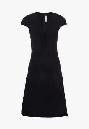 FLAR DRESS - Sukienka dzianinowa - black