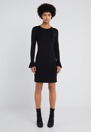CREW FLARE  - Pouzdrové šaty - black