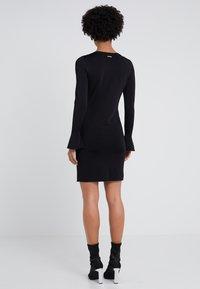MICHAEL Michael Kors - CREW FLARE  - Shift dress - black - 2