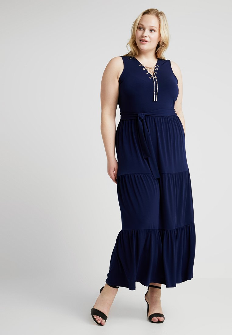 MICHAEL Michael Kors - PLUS CHAIN UP MAX - Maxi šaty - true navy