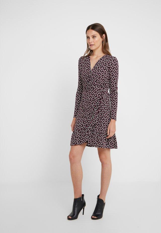 Jerseyklänning - garnet