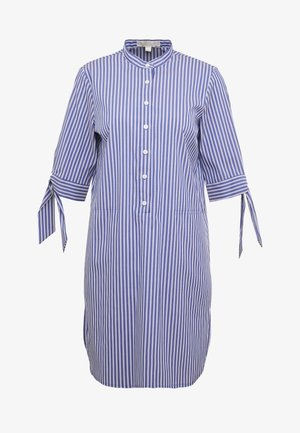 Košilové šaty - twilight blue