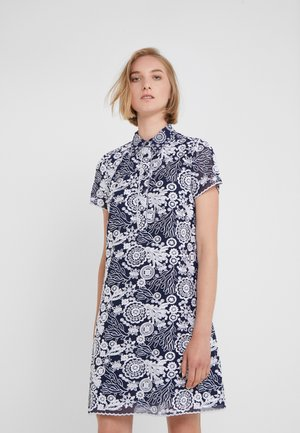 EMBR DRESS - Cocktail dress / Party dress - true navy/white