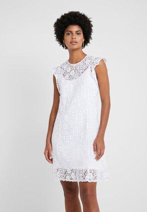 ORNATE DRESS - Korte jurk - white