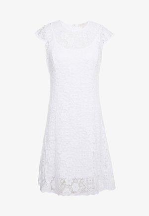 ORNATE DRESS - Day dress - white