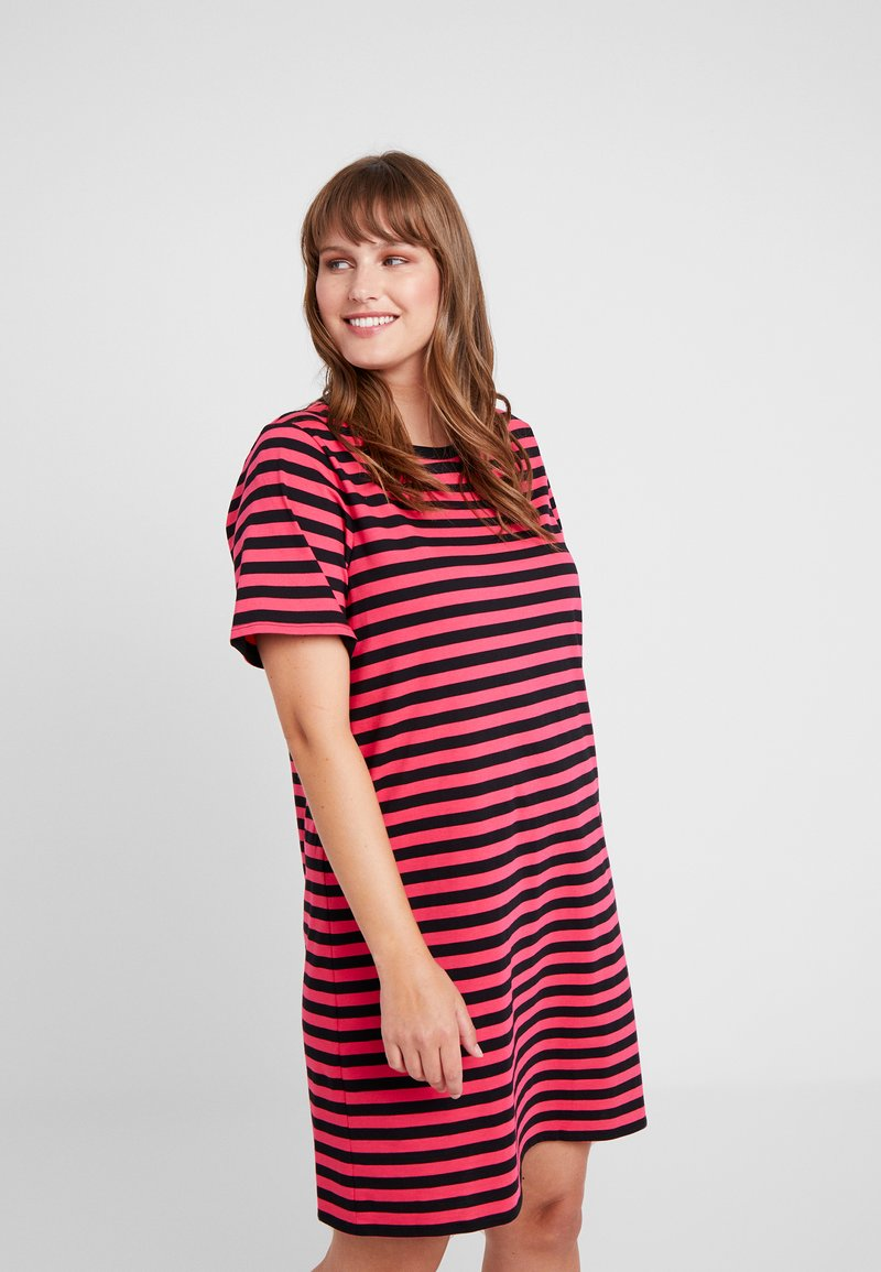 Pink Jersey Kors En neon StripeRobe Black Michael xoCedB