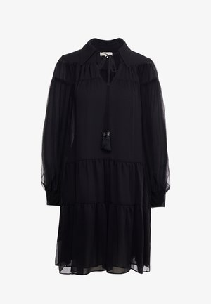 CRINKLE DRESS - Robe d'été - black