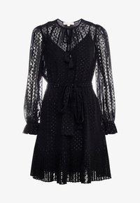 MICHAEL Michael Kors - TASSEL PLEAT - Day dress - black - 4