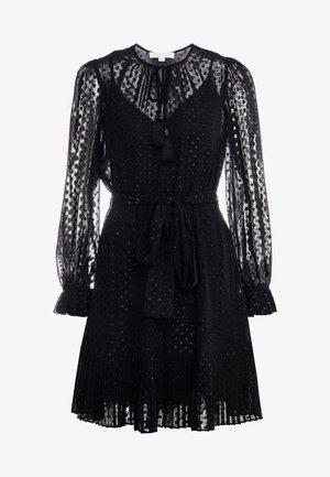 TASSEL PLEAT - Sukienka letnia - black