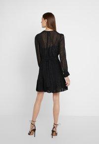 MICHAEL Michael Kors - TASSEL PLEAT - Day dress - black - 2