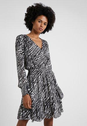 SAFARI DRESS - Korte jurk - gunmetal