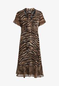 MICHAEL Michael Kors - GLAM BENGAL TIE - Day dress - dark camel - 4