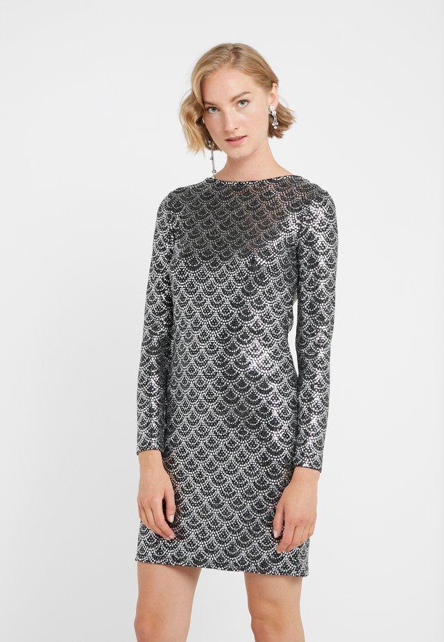 Cocktailklänning - black/silver