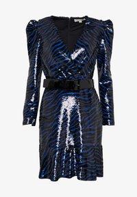 MICHAEL Michael Kors - BENGAL  - Koktejlové šaty/ šaty na párty - black/twilight blue - 5