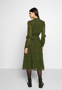 MICHAEL Michael Kors - DRESS - Day dress - black/evergreen - 2