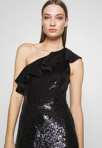 MICHAEL Michael Kors - SEQUIN DRESS - Koktejlové šaty / šaty na párty - black - 3