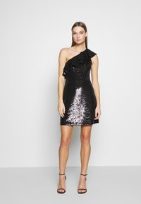 MICHAEL Michael Kors - SEQUIN DRESS - Koktejlové šaty / šaty na párty - black - 0