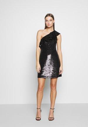 SEQUIN DRESS - Koktejlové šaty/ šaty na párty - black