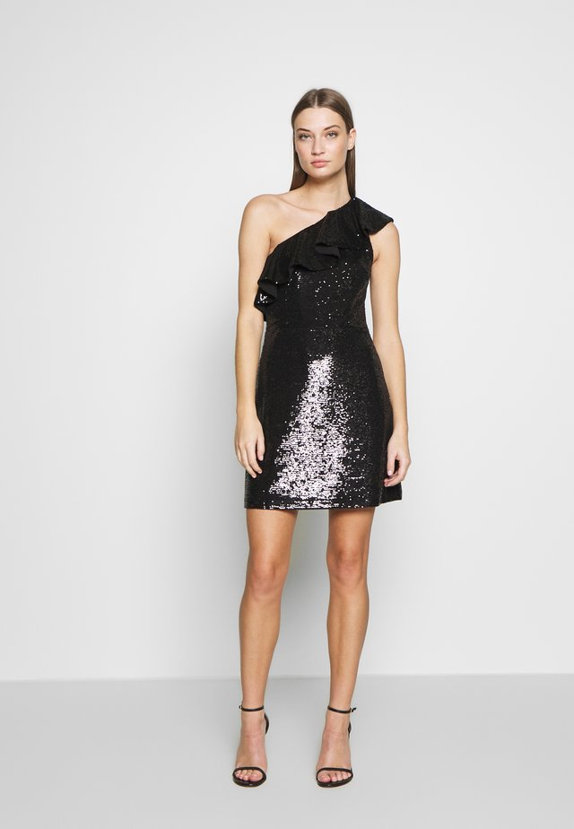 SEQUIN DRESS - Cocktail dress / Party dress - black