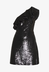 MICHAEL Michael Kors - SEQUIN DRESS - Koktejlové šaty / šaty na párty - black - 5