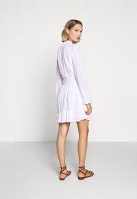 MICHAEL Michael Kors - CLIP DOTS DRESS - Skjortekjole - white - 2