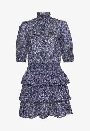 BLOSSOM SMOCK TIER DRESS - Blousejurk - chambray