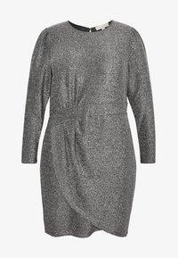 MICHAEL Michael Kors - WRAP - Koktejlové šaty/ šaty na párty - black/silver - 4
