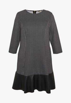 MICRO COMBO TIER - Denní šaty - black/white