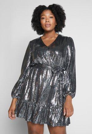 MIROR - Koktejlové šaty/ šaty na párty - black / silver
