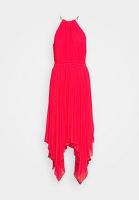 MICHAEL Michael Kors - PLEATED HALTER DRESS - Cocktail dress / Party dress - geranium - 0
