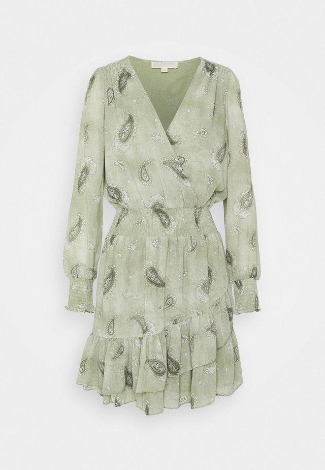 PAISLEY DRESS - Vestido informal - army green